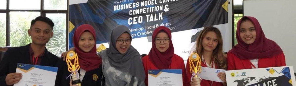 Juara 1 Jember Entrepreneur Festival (JEF) 2018 (nasional)